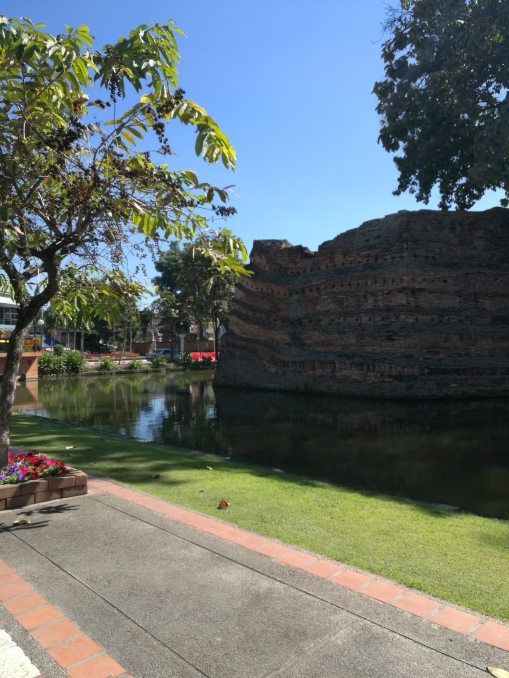 around the city moat