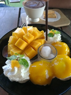 yummy mango & icecream