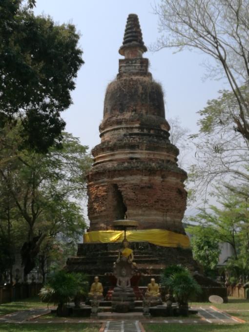 Hidden stupa