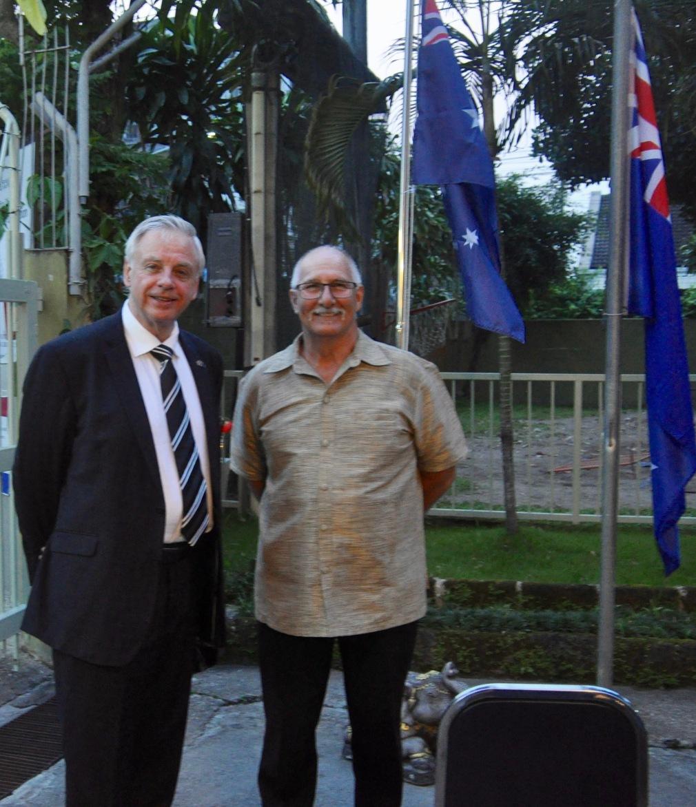 Pastor Vickers & Hon Con R Elliott