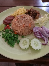 shrimp paste fried rice