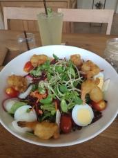 nice prawn salad