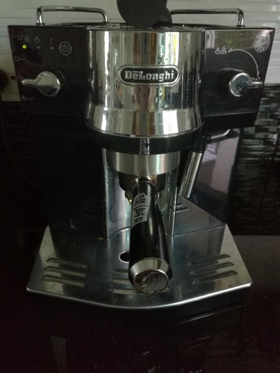 Repaired coffee machine