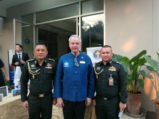 Royal Thai Army guests