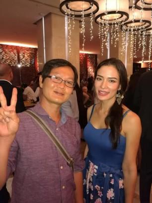 Ace & Thai actress