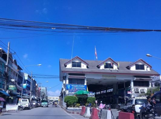 Border crossing to Myanmar